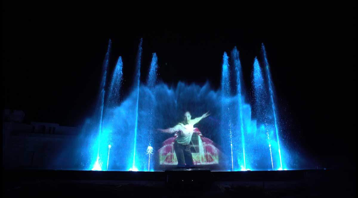 Spectacle aquatique