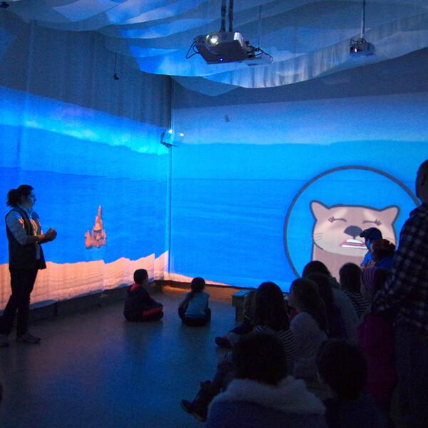 Salle immersive et interactive